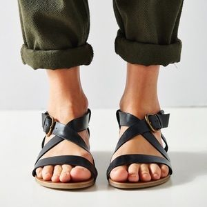 Urban Outfitters Madison leather sandals